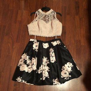 2-piece dress.